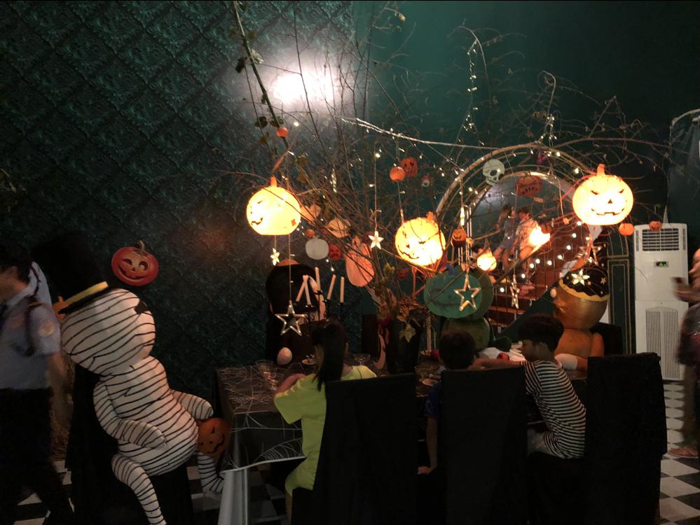 Aeon Mall Halloween Decoration