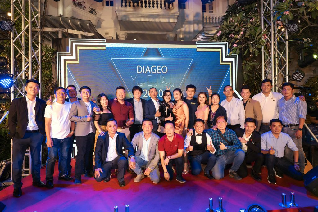 Diageo Year End Party
